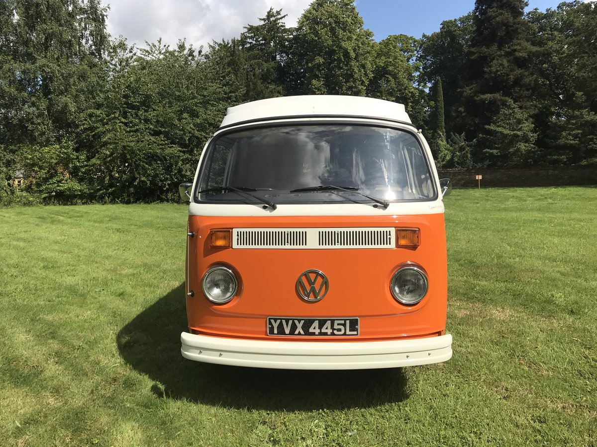 1973 TYPE 2 BAY WINDOW WESTFALIA CONTINENTAL CAMPER RHD For Sale (picture 4 of 6)