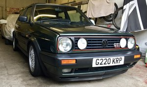 1990 Volkswagen Golf MK2 GTI 16v Oak Green For Sale