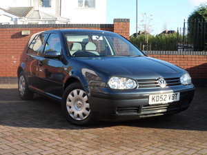 2002 Vw golf 1.9 tdi pd se, diesel auto, 26,350 miles For Sale