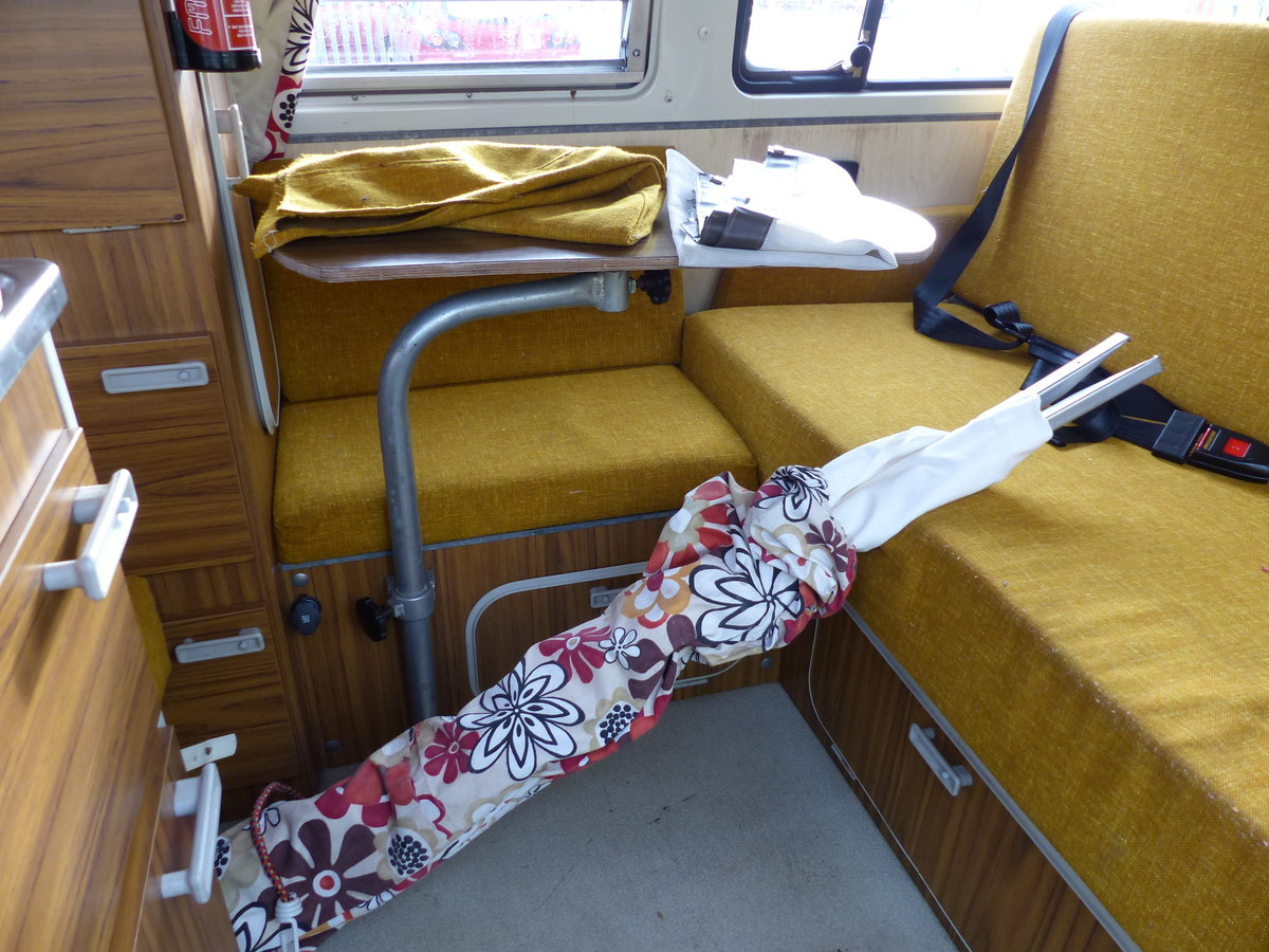 1973 TYPE 2 BAY WINDOW WESTFALIA CONTINENTAL CAMPER RHD For Sale (picture 5 of 6)
