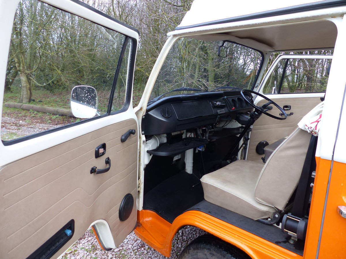 1973 TYPE 2 BAY WINDOW WESTFALIA CONTINENTAL CAMPER RHD For Sale (picture 6 of 6)