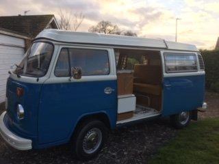 1972 VW Camper van RHD For Sale