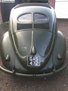 1952 VW Beetle genuine military standard sunroof *RARE*