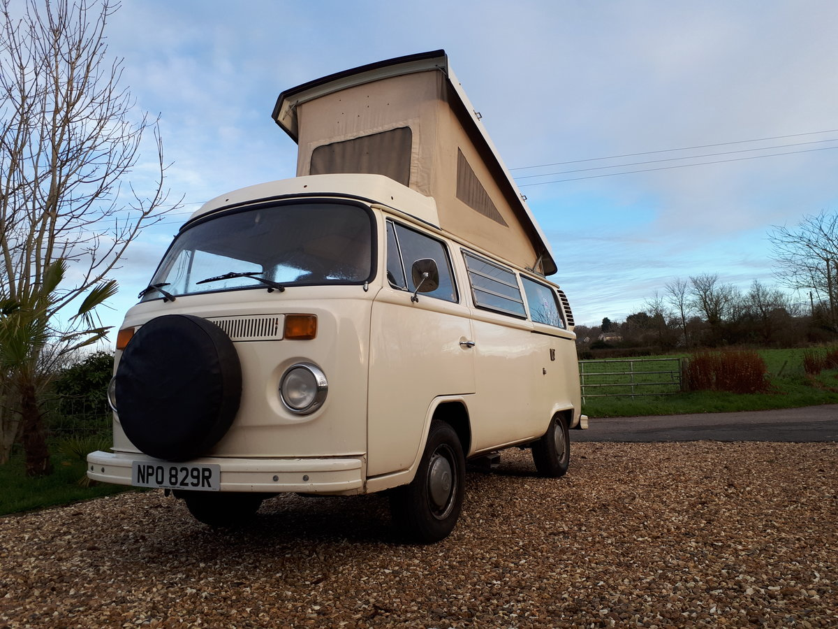 *PRICE REDUCED* 1977 LHD VW Westfalia Camper For Sale (picture 4 of 6)