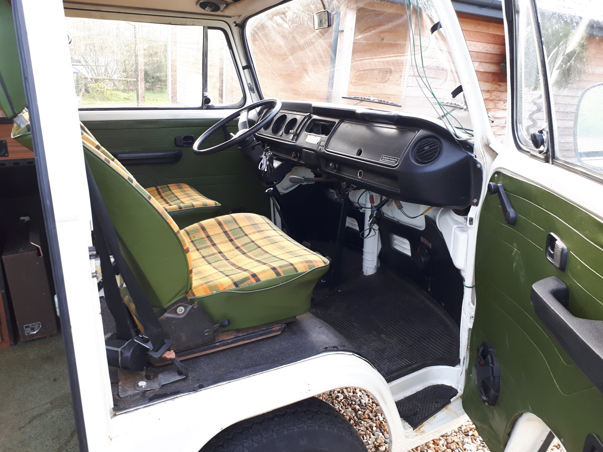*PRICE REDUCED* 1977 LHD VW Westfalia Camper For Sale (picture 5 of 6)