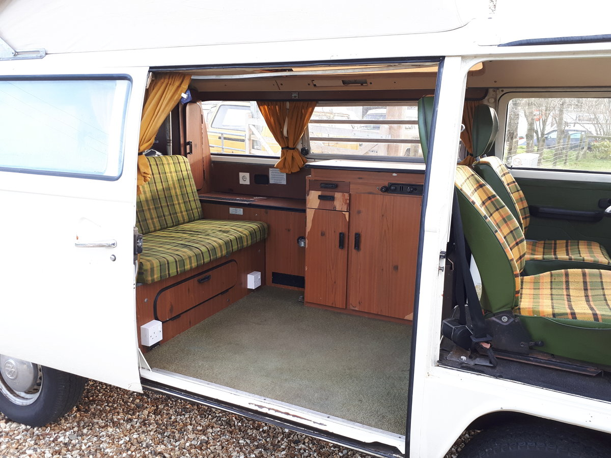 *PRICE REDUCED* 1977 LHD VW Westfalia Camper For Sale (picture 6 of 6)