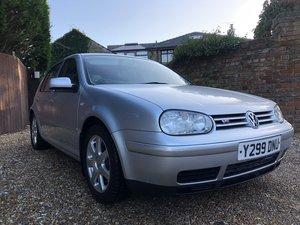 2000 Volkswagen Golf 4motion For Sale