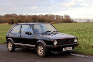 VW Golf GTi Mk1, 1983. Splendid example in black. For Sale