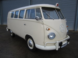 1961 Volkswagen Type 2 Split Screen Ambulance RHD, 1 of 8. For Sale