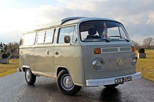 1978 Volkswagen T2 Bay Window Camper