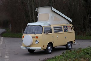 1978 1977 Volkswagen T2 Westfalia Berlin Deluxe 'Bay Window'. For Sale