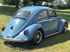 1962 VW Beetle.  Sympathetic restoration.  Subtle 'Cal look'. For Sale
