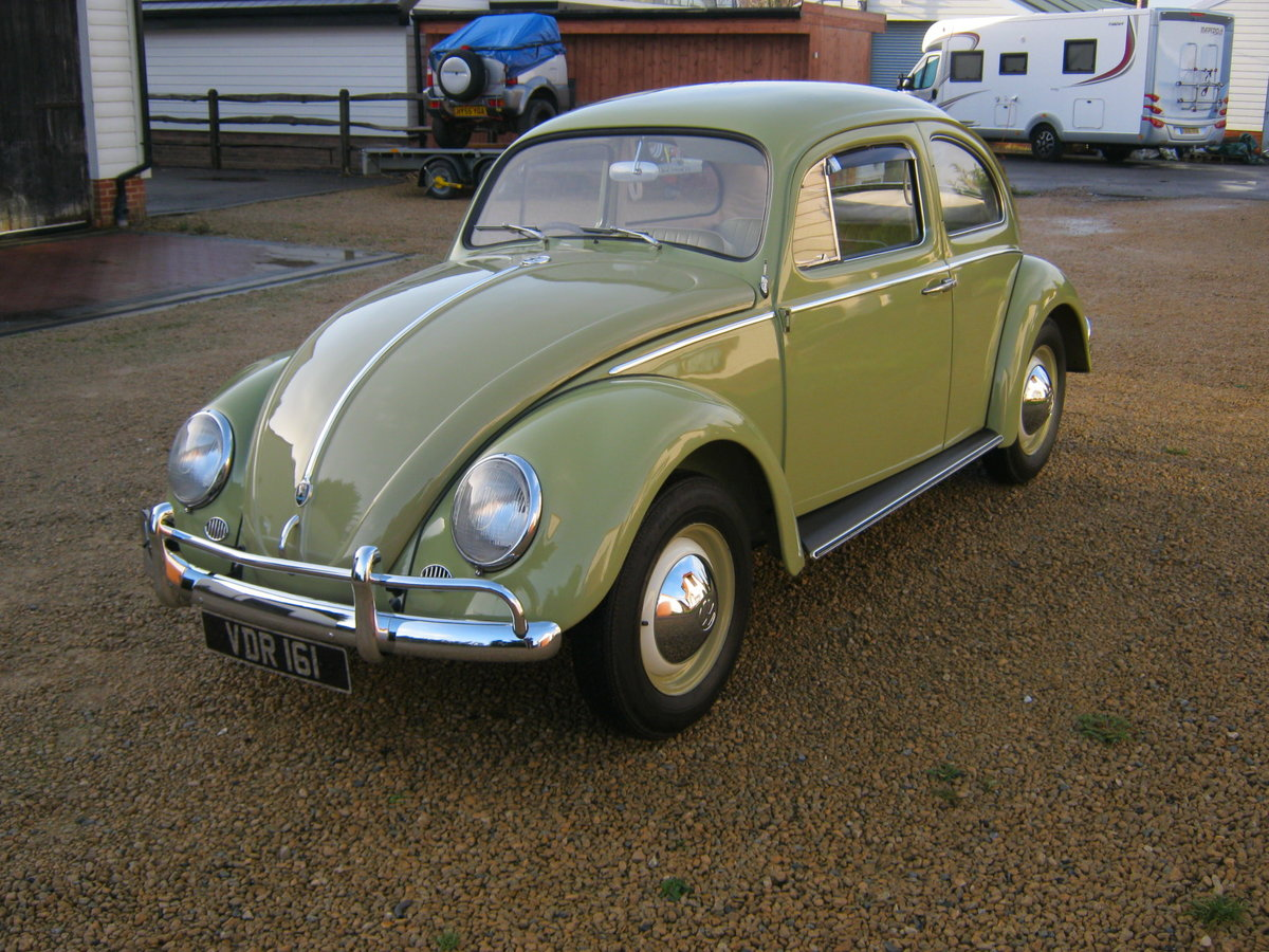 1959 VW BEETLE 1200. 1 OWNER FOR 58 YEARS. FULLY RESTORED.  For Sale (picture 2 of 6)