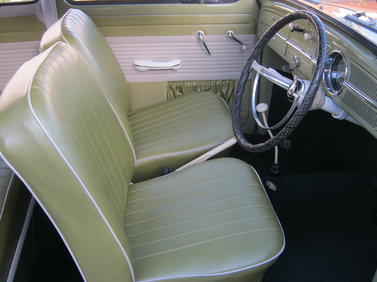 1959 VW BEETLE 1200. 1 OWNER FOR 58 YEARS. FULLY RESTORED.  For Sale (picture 4 of 6)