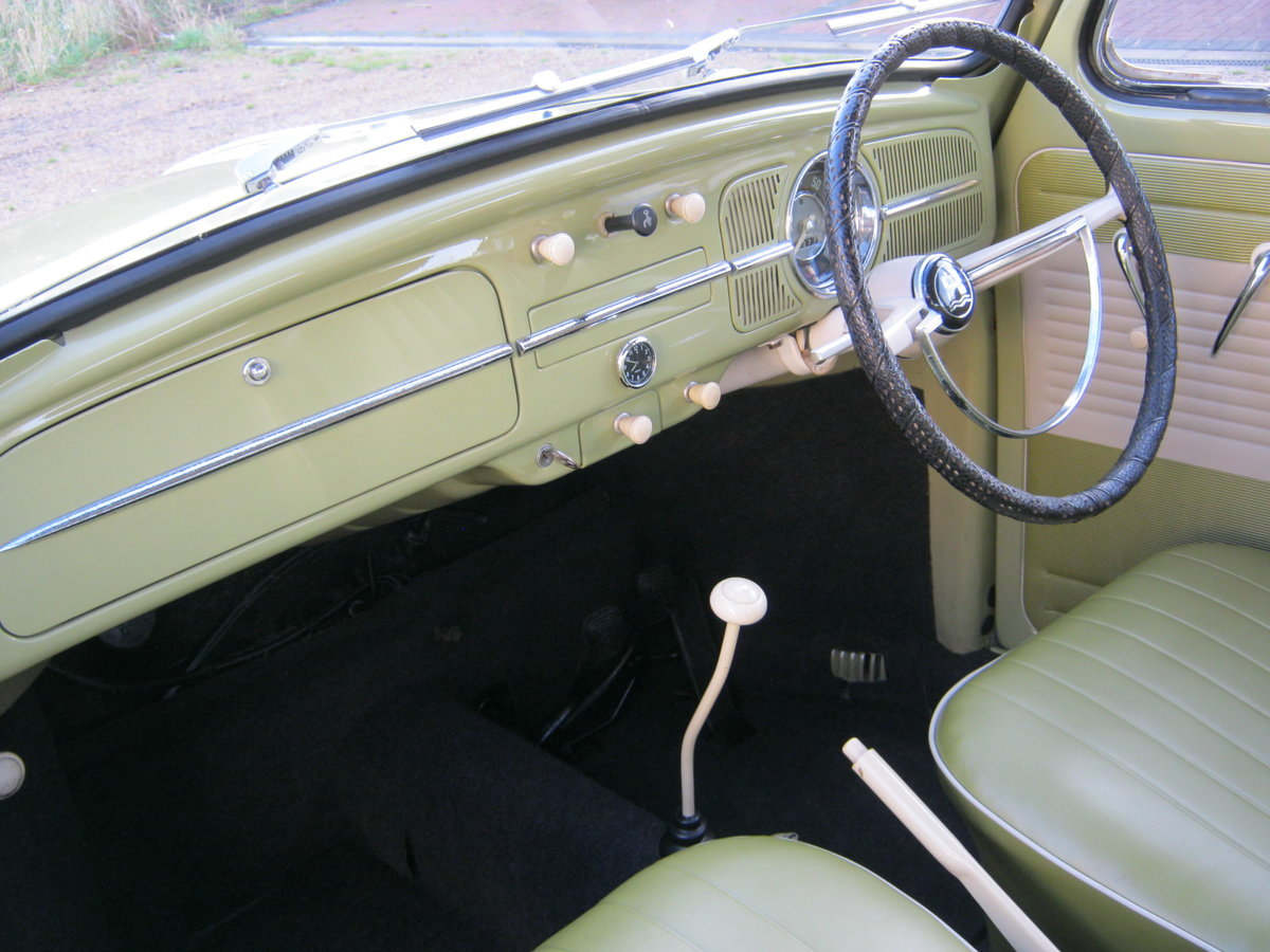 1959 VW BEETLE 1200. 1 OWNER FOR 58 YEARS. FULLY RESTORED.  For Sale (picture 5 of 6)