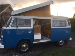 1972 VW T2 Bay Window Camper Van RHD SOLD (picture 1 of 6)