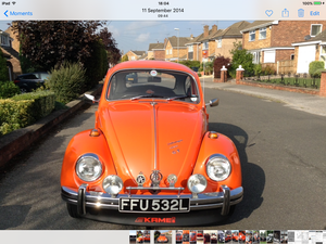 1973 GT Beetle Tomato Red For Sale