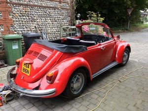 1975 vw beetle convertible lovely condition For Sale