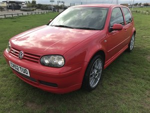 2002 Vw golf gti 25th anniversary tdi 76000 miles red For Sale