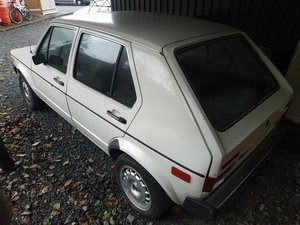 1978 VW Golf Rabbit 1.5 Diesel For Sale