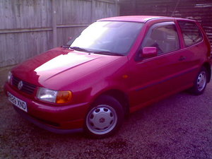 1997 1.4l 8v vw polo extensive service history,45 mpg.  For Sale