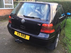 2003 VW Golf V5 with private V5 reg