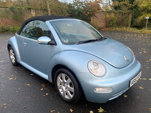 **REMAINS AVAILABLE** 2004 Volkswagen Beetle Cabriolet For Sale by Auction