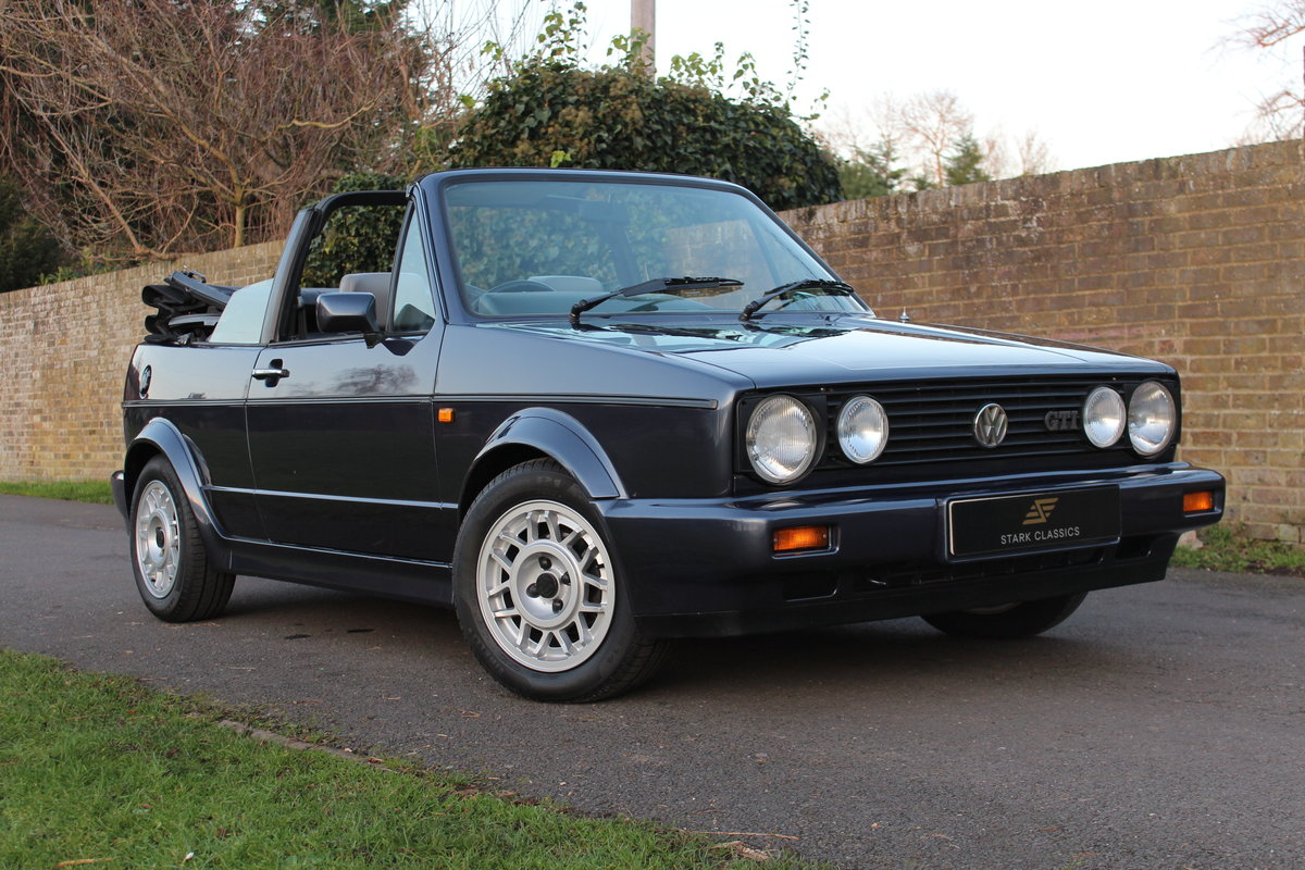 1990 Volkswagen Golf MK1 GTI Clipper 1.8 *NOW SOLD* SOLD (picture 1 of 6)