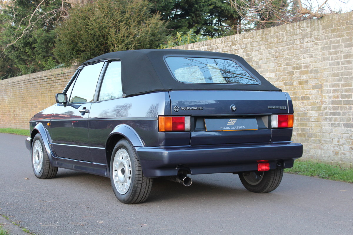 1990 Volkswagen Golf MK1 GTI Clipper 1.8 *NOW SOLD* SOLD (picture 2 of 6)