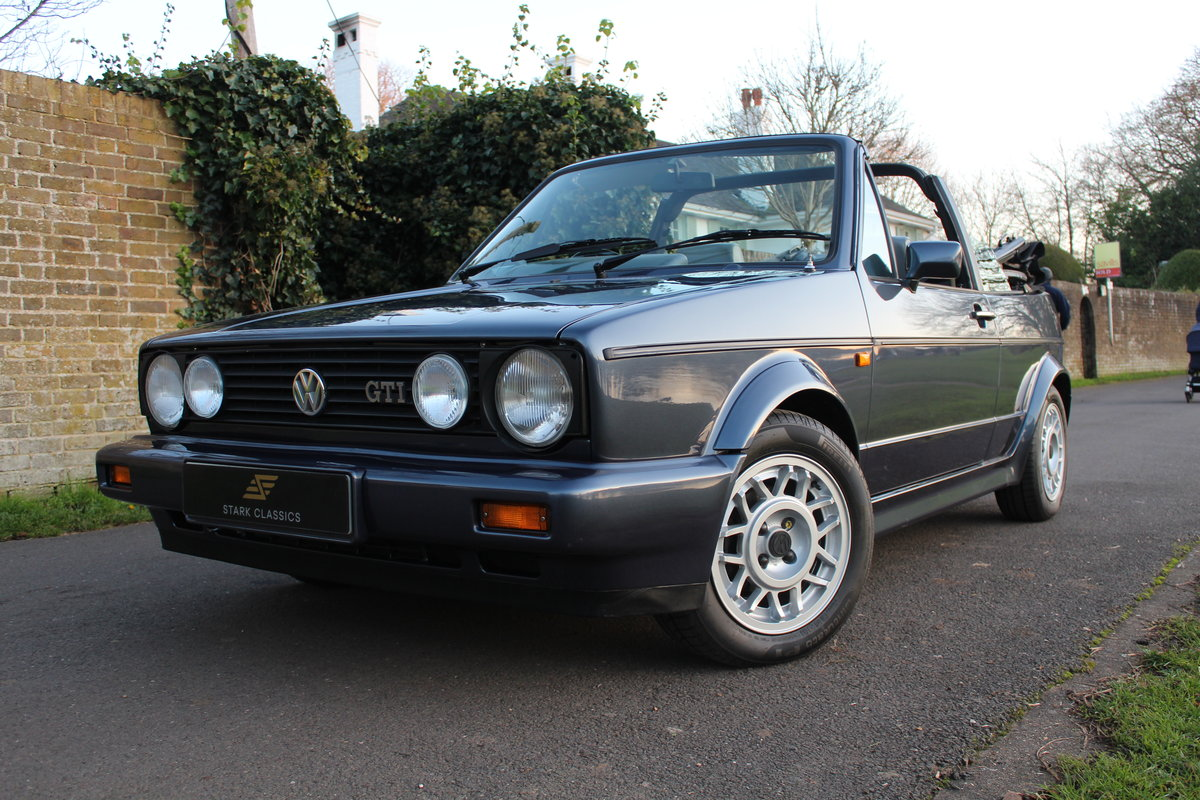 1990 Volkswagen Golf MK1 GTI Clipper 1.8 *NOW SOLD* SOLD (picture 3 of 6)