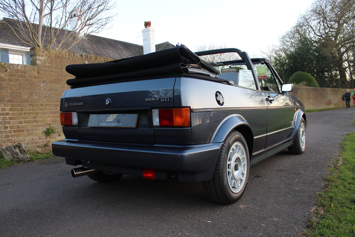 1990 Volkswagen Golf MK1 GTI Clipper 1.8 *NOW SOLD* SOLD (picture 4 of 6)