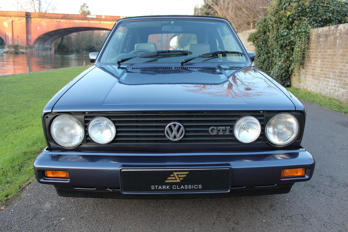 1990 Volkswagen Golf MK1 GTI Clipper 1.8 *NOW SOLD* SOLD (picture 6 of 6)