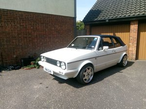 1986 Volkswagen Golf Gti Mk1 Cabriolet For Sale