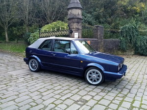 1990 VW Golf Mk1 1.8 Cabriolet exclusive! Rare classic!