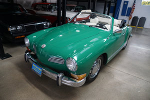 Orig California 1974 Volkswagen Karmann Ghia Convertible