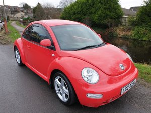 2002 Volkswagen Beetle V5 2.3 With full read and black leather. For Sale