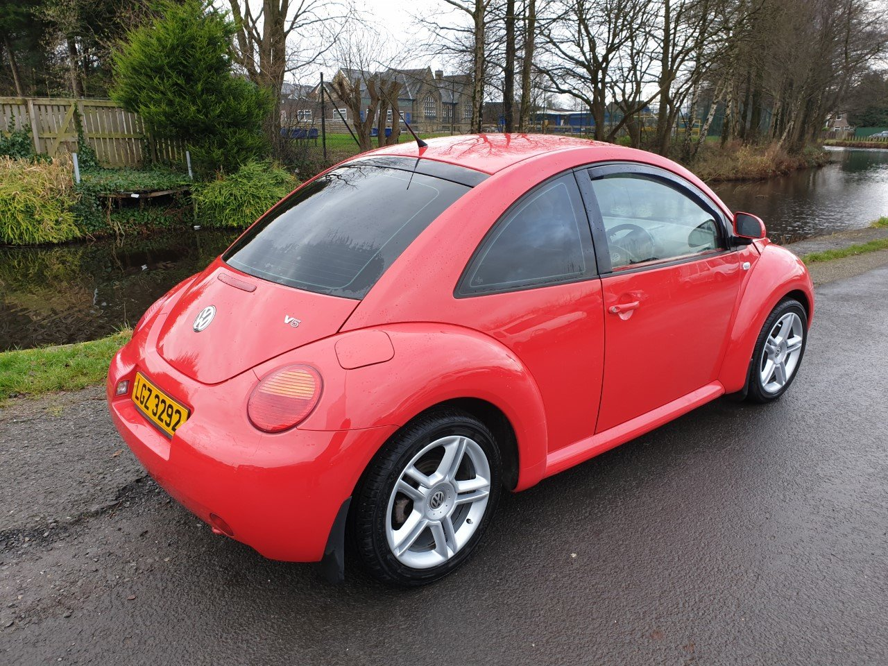 2002 Volkswagen Beetle V5 2.3 With full read and black leather. For Sale (picture 3 of 6)