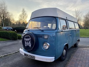 1978 VW Bay Window Camper Van Daily Runner Project For Sale