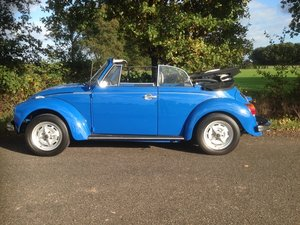 beetle convertible 1303 1973 body off restored like new