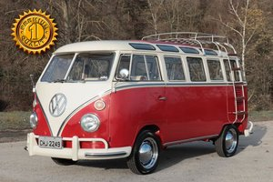 1970 Volkswagen T1 Sunroof Bus Frame Off Restoration