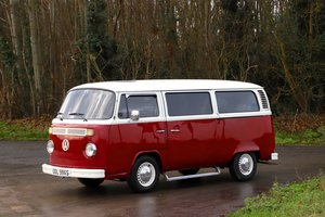 1978 VW T2 Bay Window Camper Van. Red / Cream. RHD For Sale
