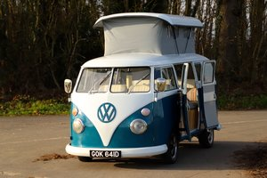 1966 VW Split Screen Camper Van. Pop Top Roof. Restored 2020 For Sale