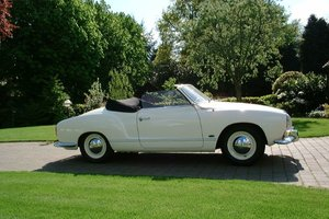 1959 Karmann ghia convertible