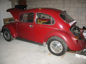 1970 VW Beetle Project