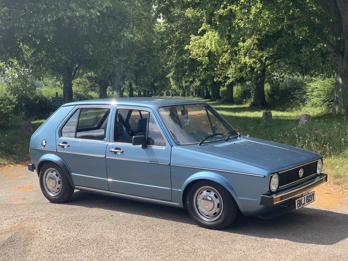 Volkswagen Golf Mk1 GL 1983 SOLD (picture 1 of 6)