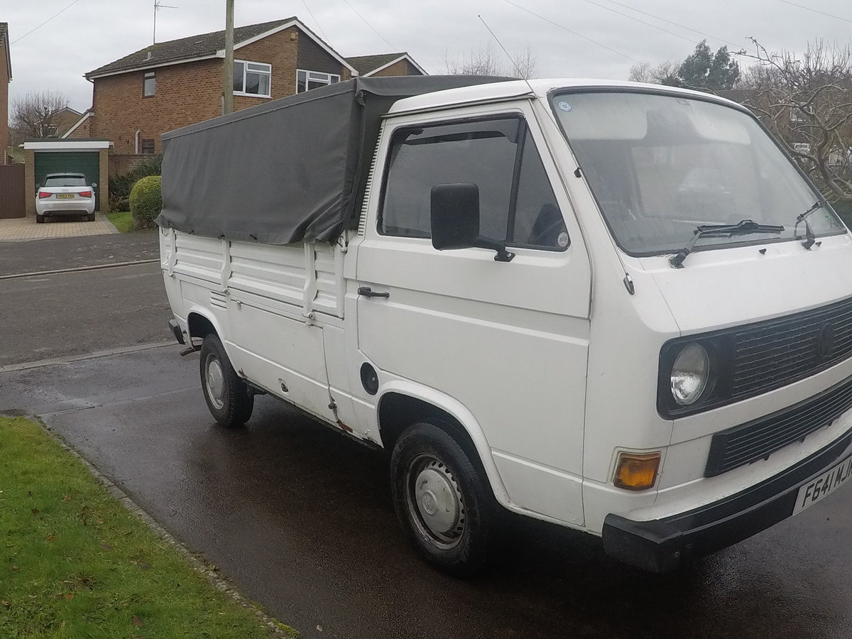1989 RHD T25 Single Cab Pick-up For Sale (picture 1 of 6)