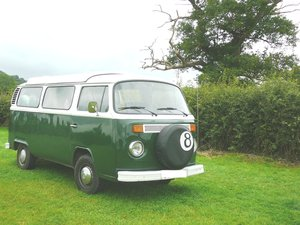 1979 VW T2 Campervan reluctantly for sale -Delilah