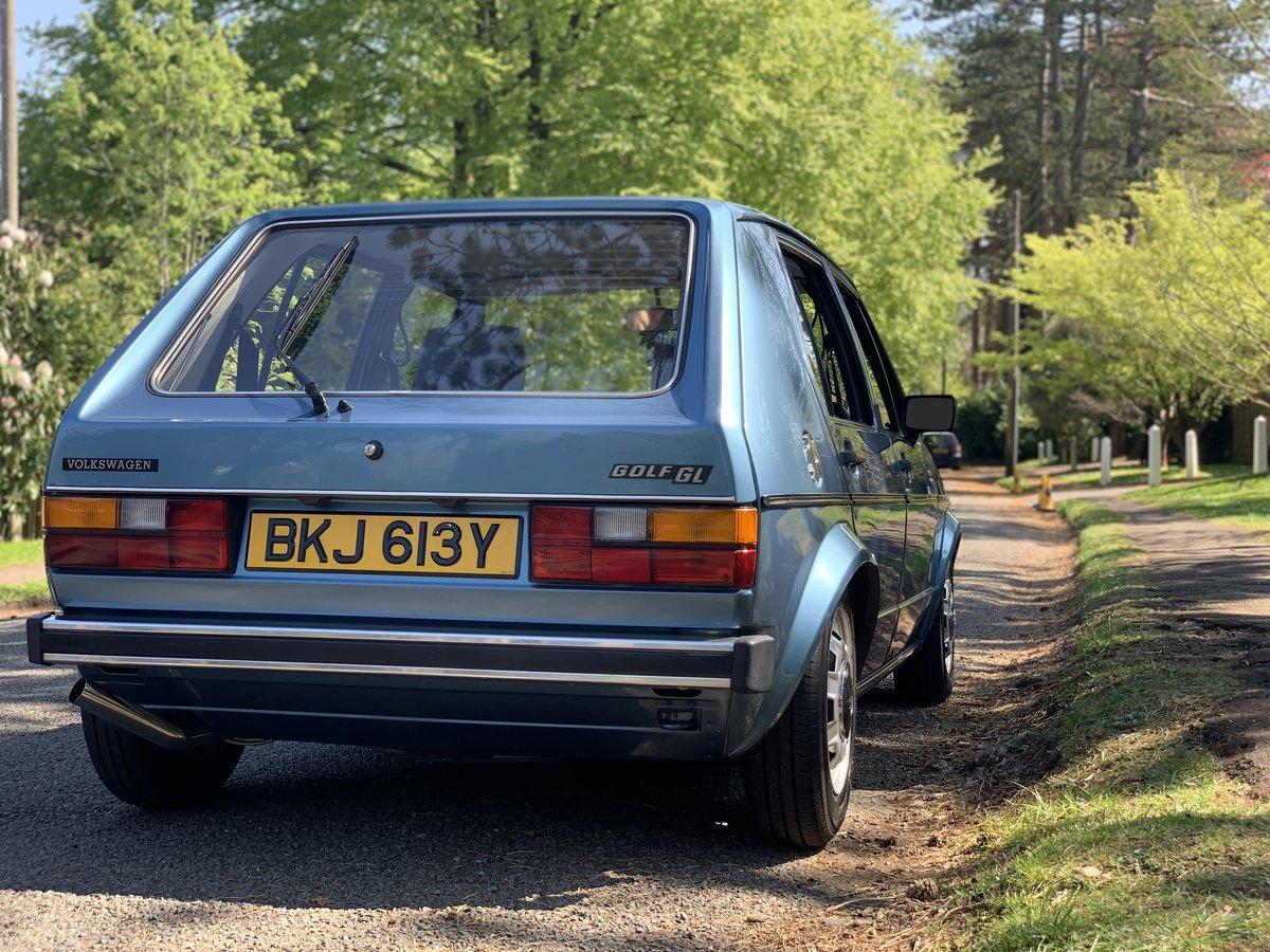 Volkswagen Golf Mk1 GL 1983 SOLD (picture 6 of 6)