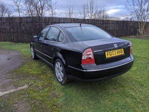 2003 VW Passat Sport TDI (130) 6sp