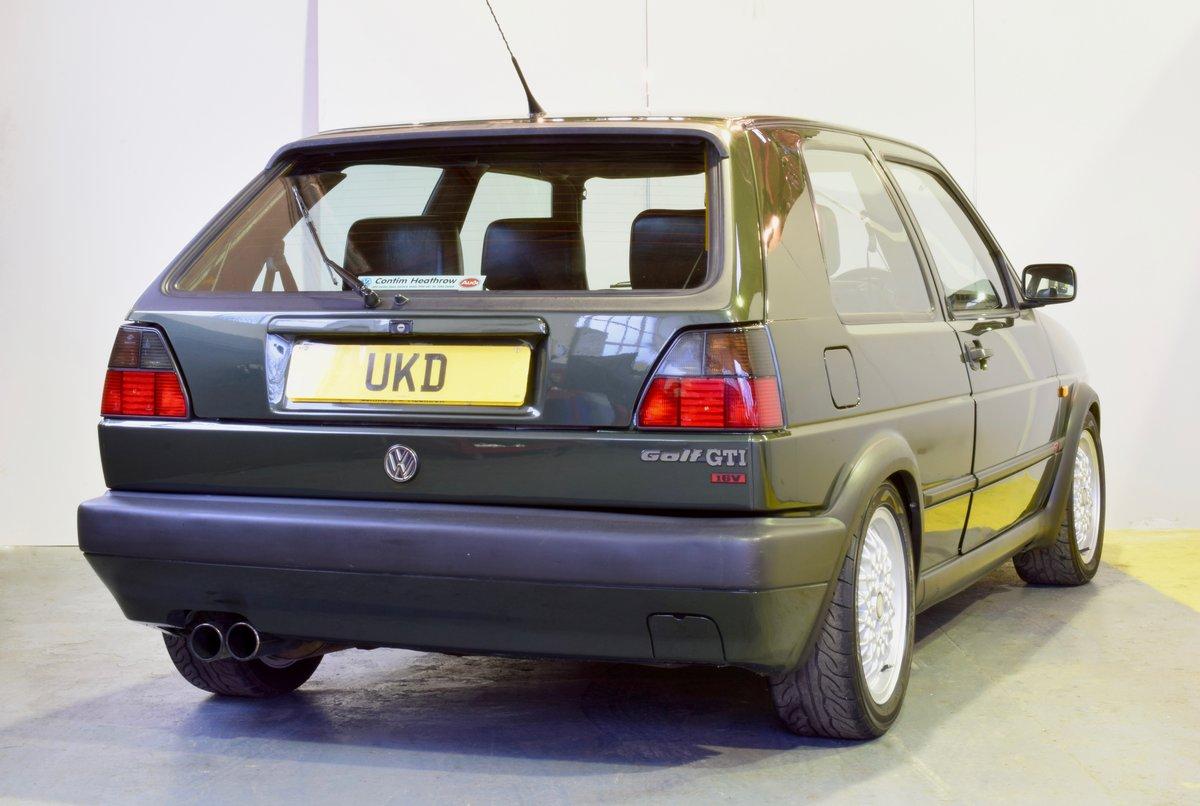 VW GOLF MK2 GTI 16V OAK GREEN 3DR 1991 SOLD (picture 4 of 15)